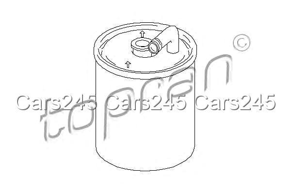 Inline Fuel Filter Fits MERCEDES C-Class Coupe Cl203 CL203