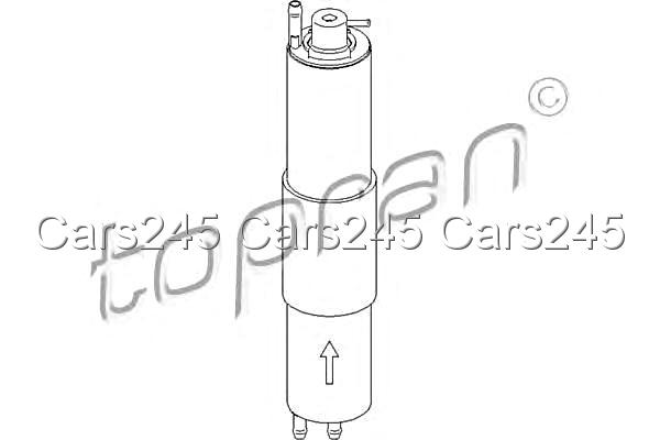 Inline Fuel Filter Fits BMW 3-Series E46 Coupe Convertible