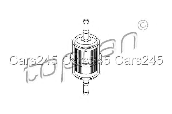 Inline Fuel Filter Fits PEUGEOT 205 II 1.6L 1987-1998 1567