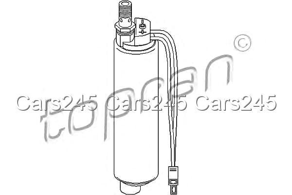 Electric Fuel Pump Fits AUDI 80 A6 B4 100 C4 44 C3 1.8-2