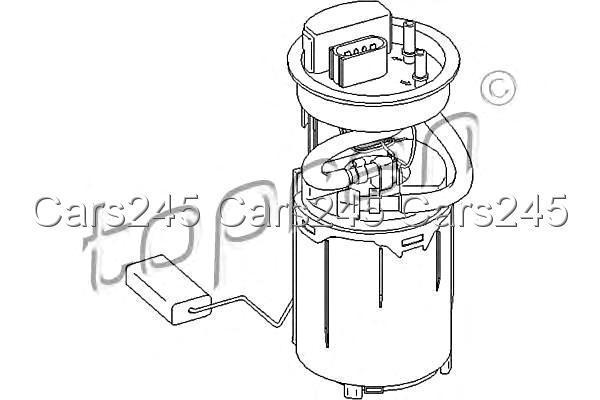 Electric Fuel Pump Fits AUDI A3 SEAT Toledo Leon SKODA