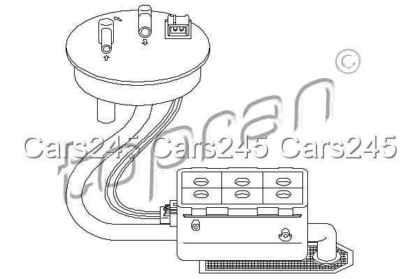 Electric Fuel Pump Fits CITROEN Zx PEUGEOT 306 1.4-2.0L