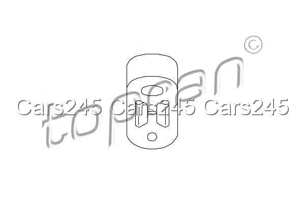 Exhaust System Hanger Bracket Fits Citroen Zx Xantia Break