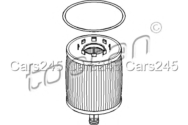 Oil Filter Fits VW Touareg Closed Off-Road Vehicle 2002