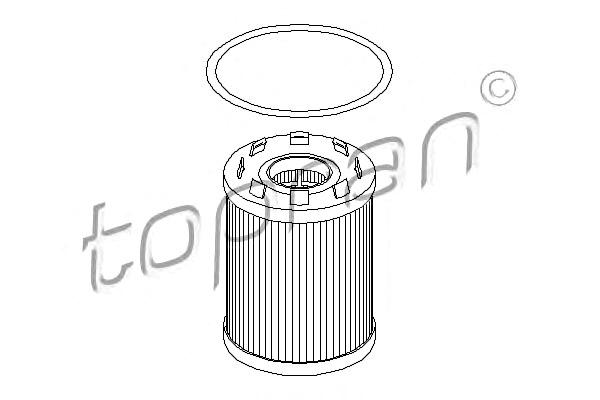 TP Oil Filter Fits FIAT Grande Punto FORD Ka OPEL Astra