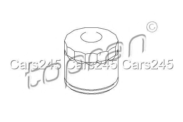 Oil Filter Fits DACIA Duster Logan OPEL Vivaro RENAULT 19