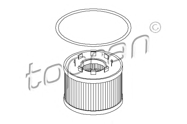 Oil Filter Fits FORD Mondeo Transit Hatchback Sedan Wagon