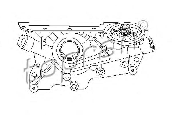 Engine Oil Pump Fits OPEL Astra F Ascona C Hatchback 84 89
