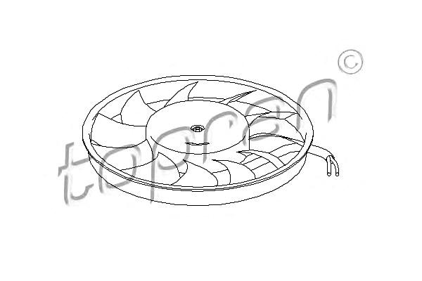 Engine Cooling Radiator Fan 300mm Fits AUDI A4 B7 B6 8E
