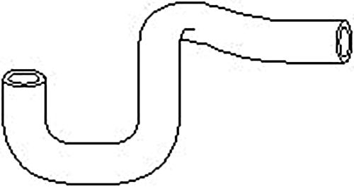 Radiator Coolant Hose Pipe Fits OPEL Astra Calibra Kadett