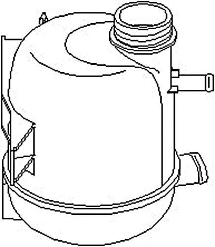 TP Coolant Expansion Tank Fits DACIA Logan Sandero RENAULT
