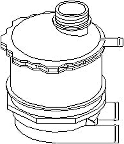 Coolant Expansion Tank Bottle Fits RENAULT 19 Clio Master