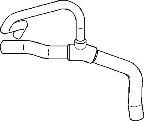 Radiator Coolant Hose Pipe Fits RENAULT Clio Kangoo MPV