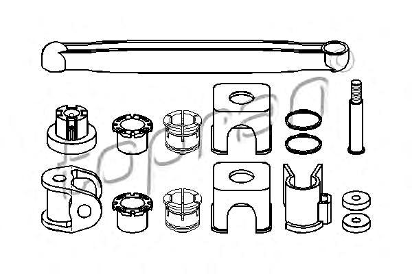 Gear Level Selector Repair Kit Fits OPEL Combo Corsa