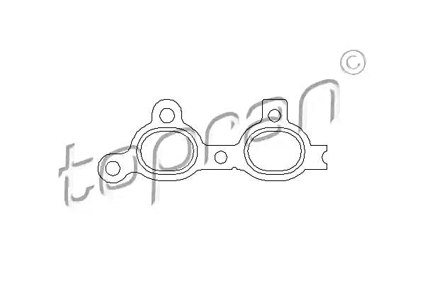 TP Exhaust Manifold Gasket Fits OPEL Astra Combo Corsa