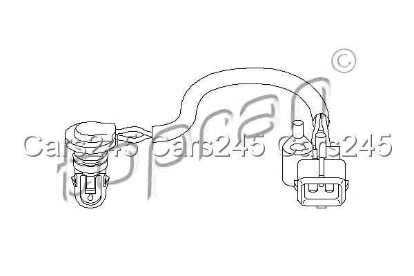 Intake Air Temperature Sensor Fits CITROEN Xantia Jumper