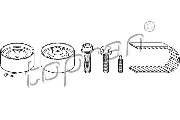 TP Timing Belt Kit Fits OPEL Astra Corsa Meriva Mokka