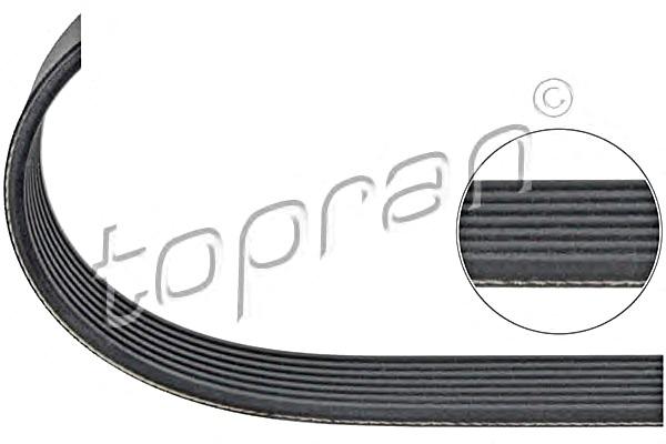 Engine V-Ribbed Belt 2035 mm Fits MERCEDES Sprinter Viano