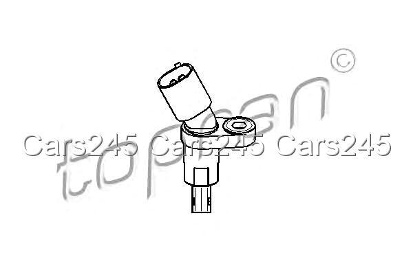 Wheel Speed Sensor ABS Fits AUDI TT A3 SEAT Arosa SKODA VW