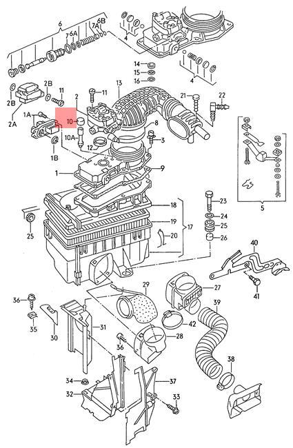 Genuine Volkswagen Plug For Co Adjusting Screw NOS Audi