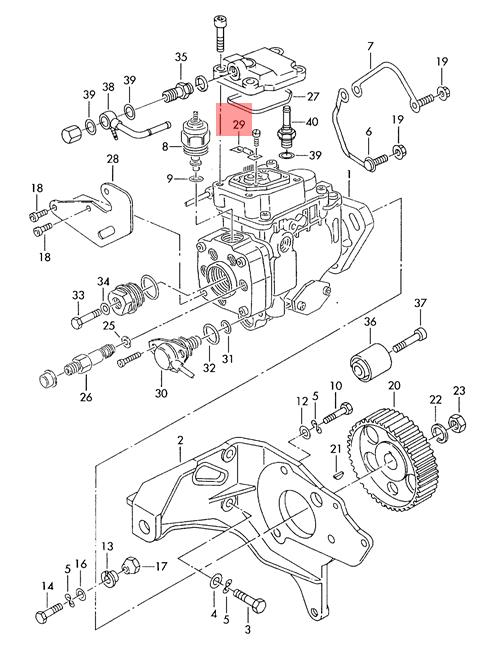 Genuine Temperature Sensor VW AUDI Beetle Golf R32 GTI