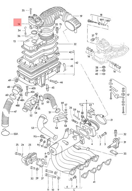 Genuine Volkswagen Fuel Metering Valve NOS Dasher Jetta