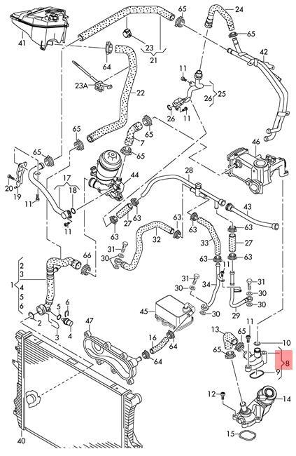 Genuine Intermediate Flange AUDI VW A6 Allroad quattro