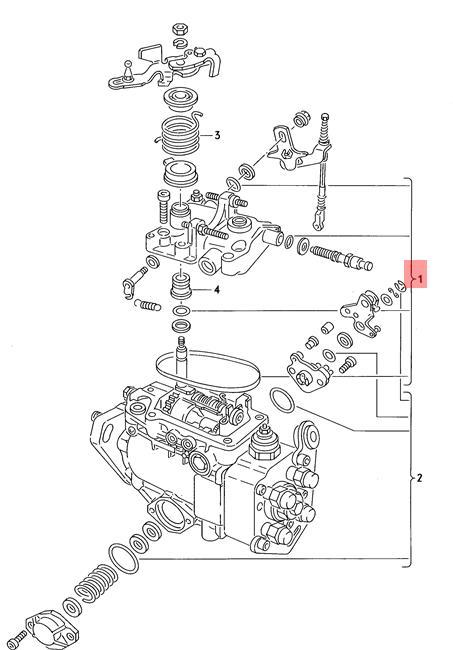 Genuine Gasket Set For Injection Pump VW AUDI Dasher
