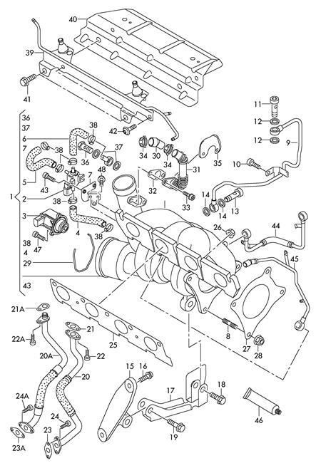 Genuine Vacuum Unit With Add-On Parts VW AUDI Eos Golf R32