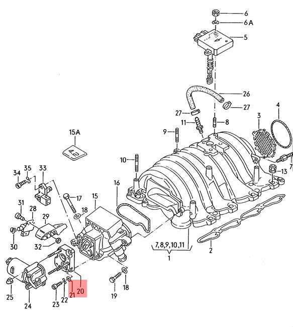 Genuine Flange AUDI 100 Avant quattro 80 90 A4 S4 A6 S6 A8