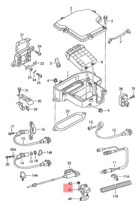 Genuine Pressure Sensor AUDI A4 S4 A6 allroad quattro S6