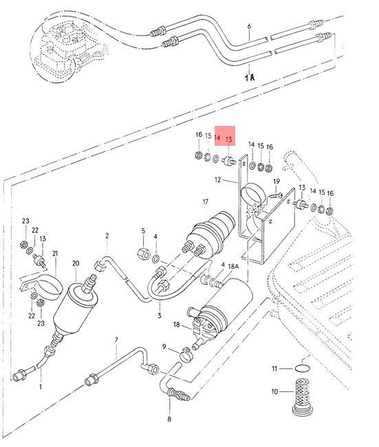 Bonded Rubber Bush VW AUDI Dasher Jetta Quantum syncro