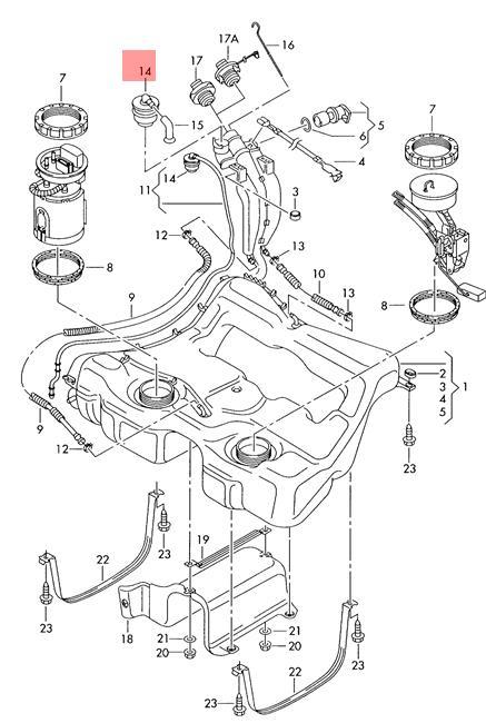 Genuine Gravity valve VW Golf R32 GTI Rabbit Jetta Variant