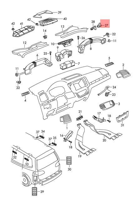 Genuine Air Quality Sensor VW Beetle CC Eos Golf R32 GTI