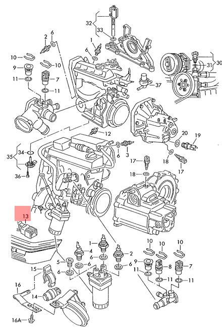 Genuine External Temperature Sensor VW Corrado EuroVan