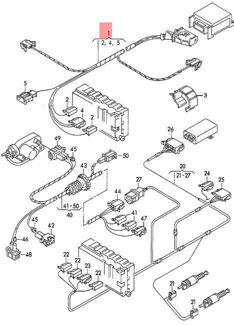 Genuine VW Airbag Wiring Harness NOS VW Passat 4Motion