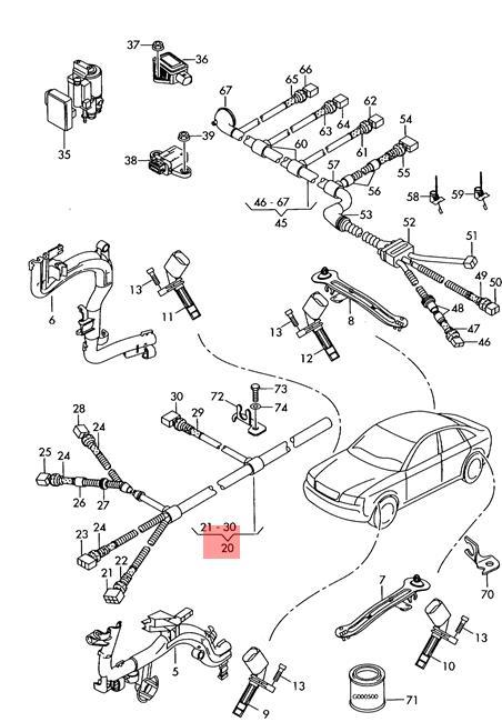 Genuine VW Phaeton Wiring Harness For Speed Sensor Left