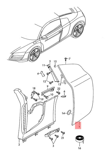 Audi R8 Drawing Easy