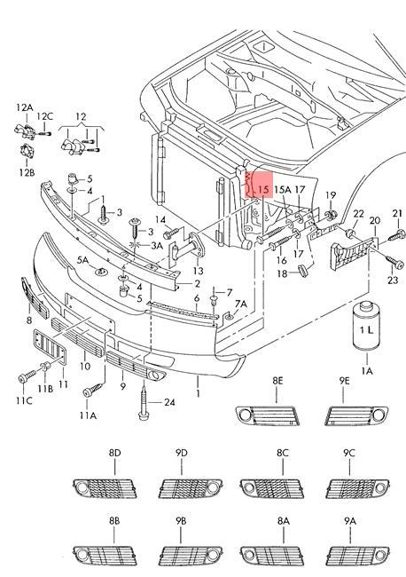 Genuine Securing Pin AUDI A6 Allroad Qu. Quattro Avant S6