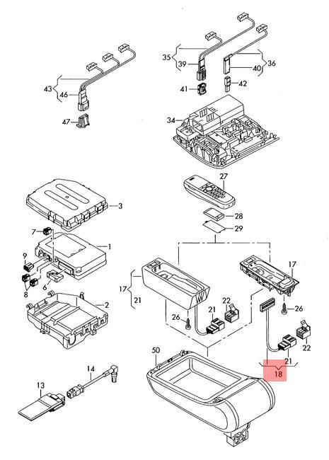 Genuine AUDI A6 Allroad Quattro Avant Wiring Harness For
