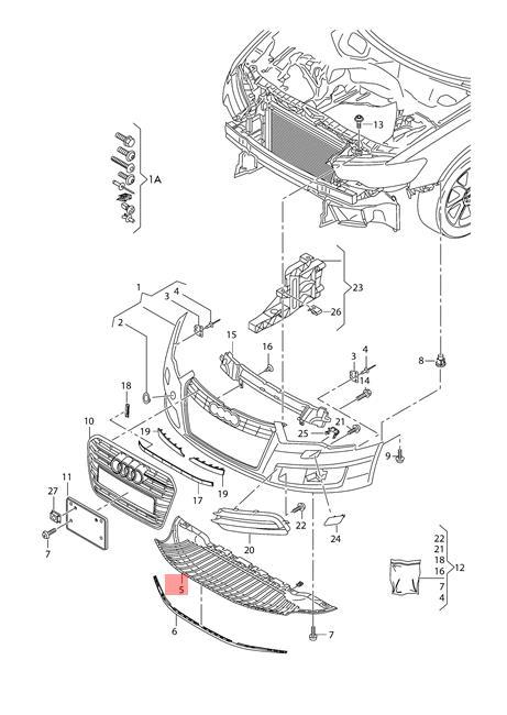 Genuine Closing element AUDI A6 Wagon S6 quattro 4G2 4G5