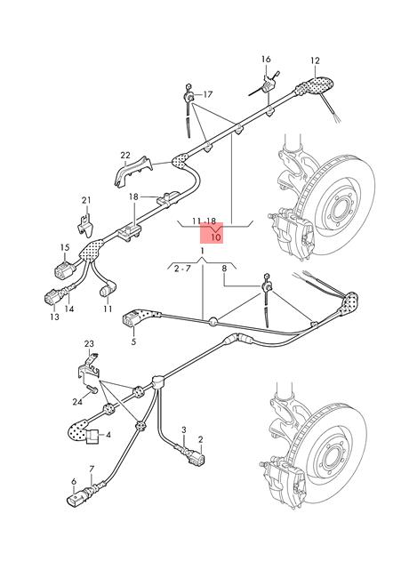 Genuine VW AUDI SEAT Golf R32 Wiring Harness For Speed
