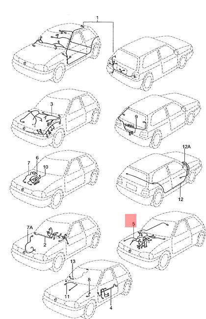 Genuine VW Gol Pointer Wiring Harness For Transistorized