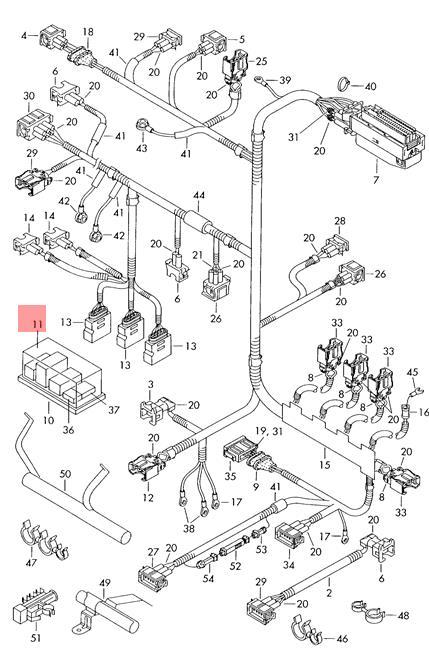 Genuine Volkswagen Relay Box Upper Part NOS SKODA VW