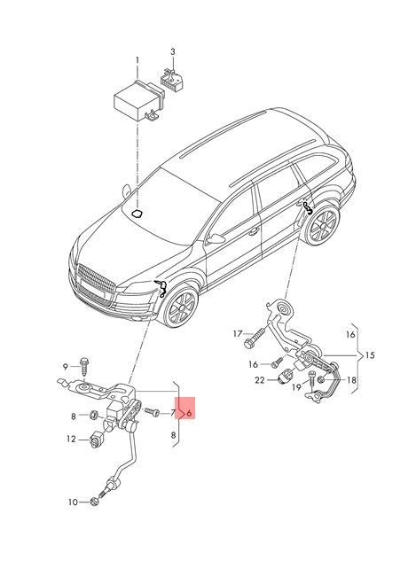 Genuine Level Sensor With Poles Left VW AUDI Touareg Audi