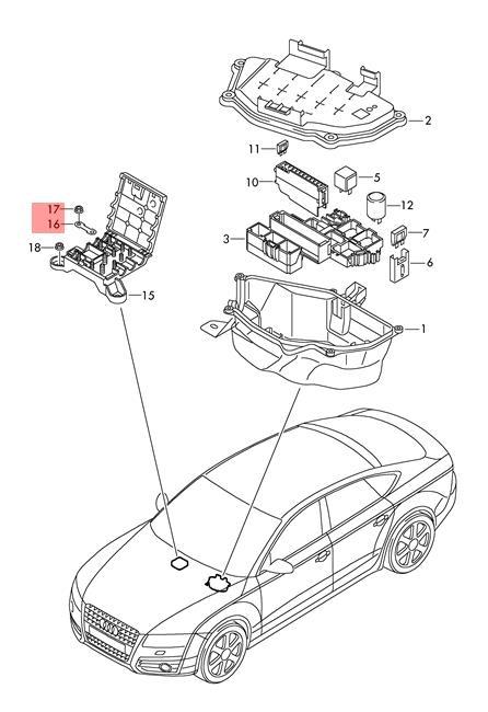 Genuine VW AUDI SEAT SKODA Amarok Ameo Beetle Cabrio Fuse