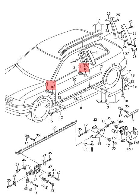 Genuine AUDI VW 100 Avant Quattro A3 Washer 4 8X9X2 15 x10