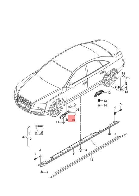 Genuine Locating bolt AUDI VW Audi A6 Avant S6 quattro A7