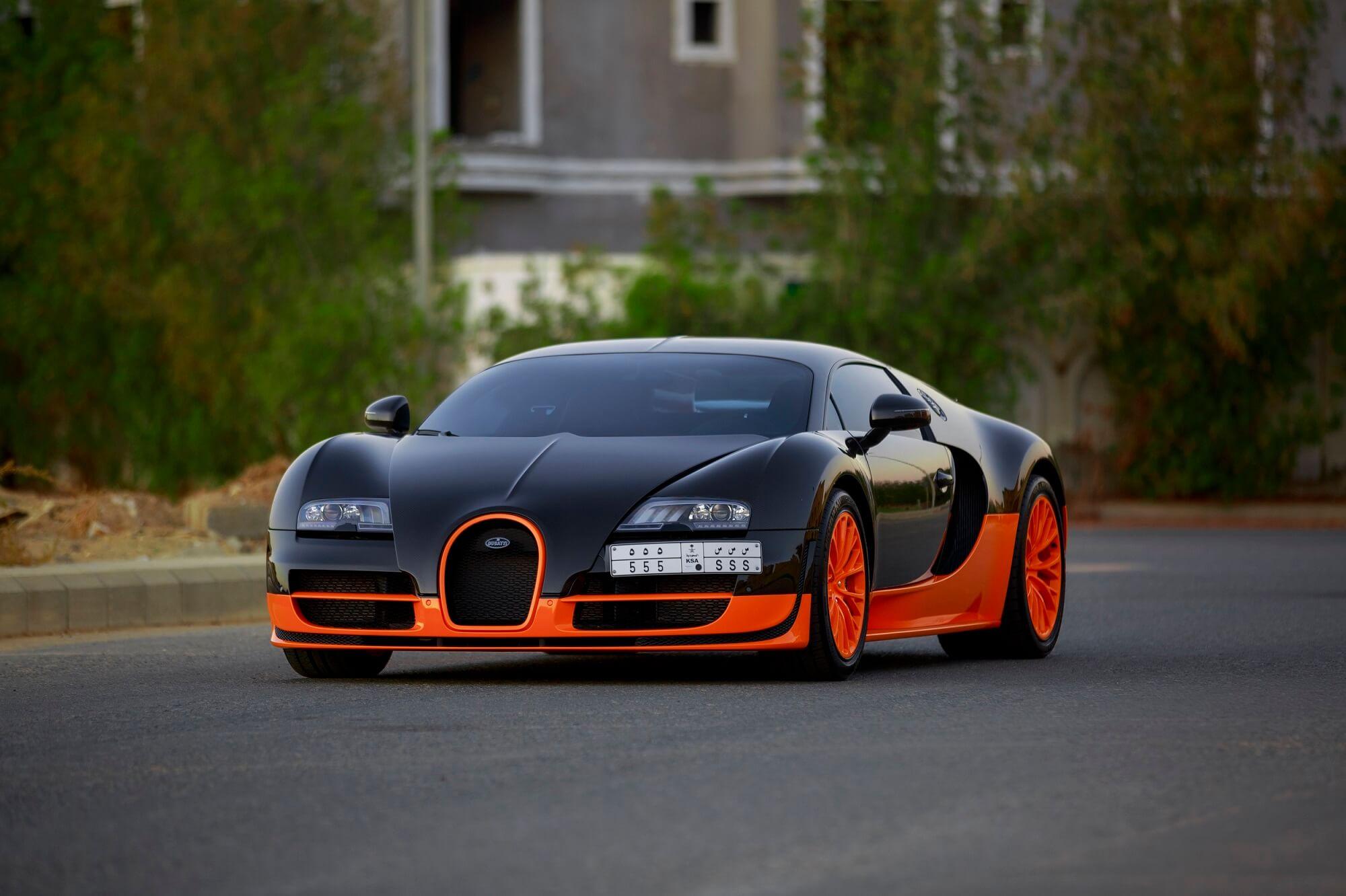 Exclusive Bugatti Veyron Super Sport World Record Edition