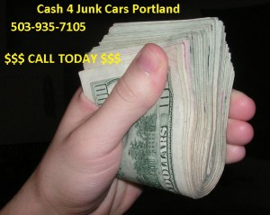 Sell your junk car Portland